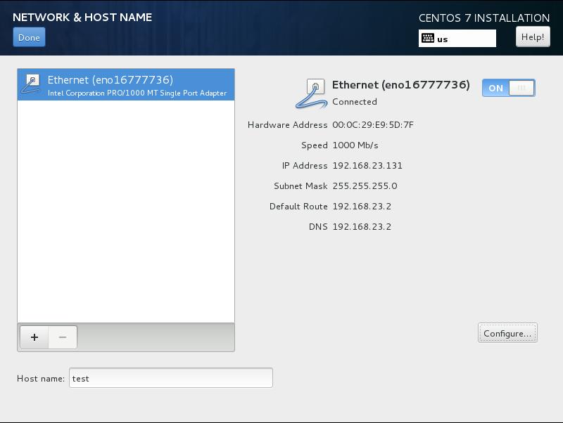 CentOS7 安装和部分设置参考 - 第11张    我的系统记录