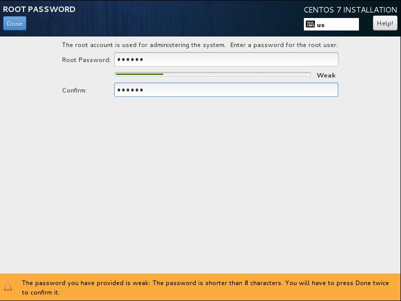 CentOS7 安装和部分设置参考 - 第13张    我的系统记录