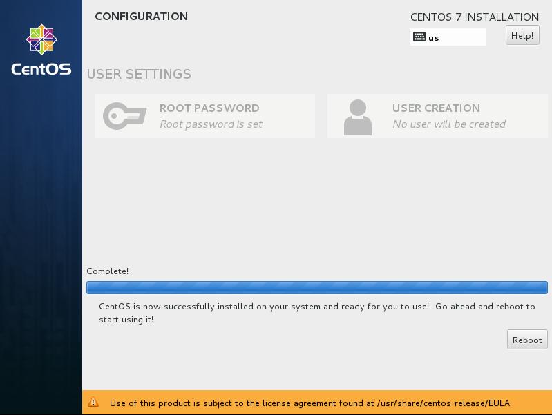 CentOS7 安装和部分设置参考 - 第14张    我的系统记录