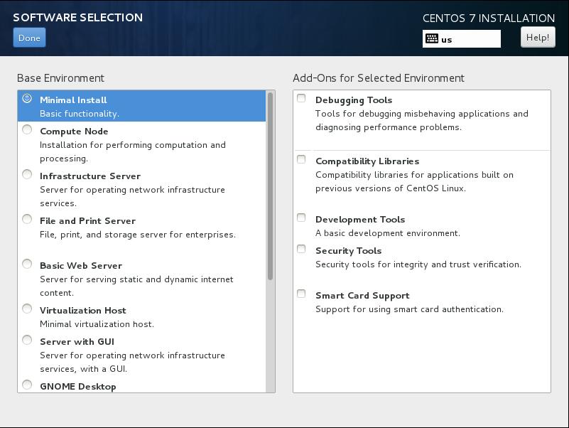 CentOS7 安装和部分设置参考 - 第4张    我的系统记录