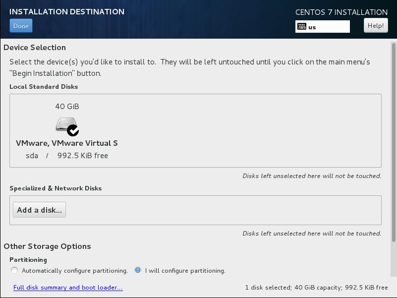 CentOS7 安装和部分设置参考 - 第5张    我的系统记录