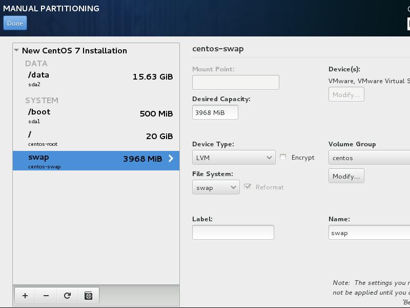 CentOS7 安装和部分设置参考 - 第8张    我的系统记录