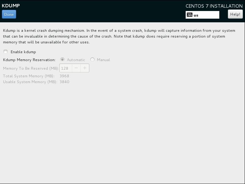 CentOS7 安装和部分设置参考 - 第10张    我的系统记录