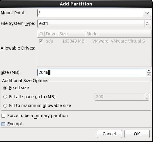 CentOS 6.2 安装及优化 - 第15张    我的系统记录