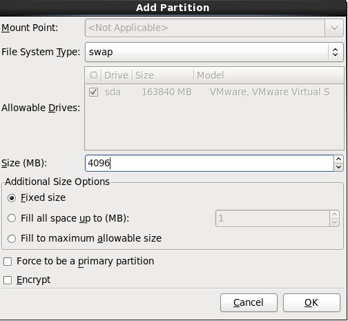 CentOS 6.2 安装及优化 - 第16张    我的系统记录