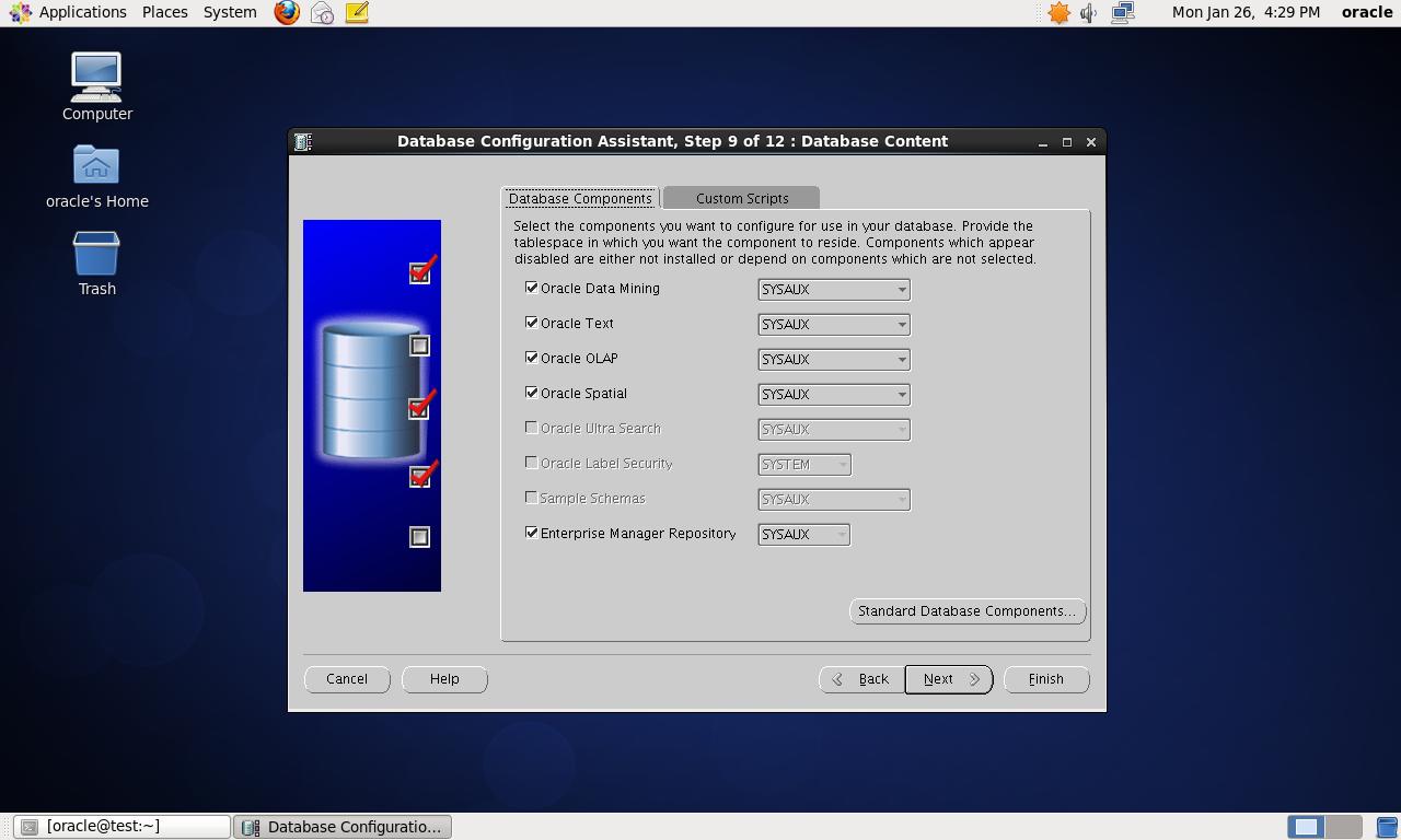 CentOS 6.4 64bit 安装Oracle 10G 详解 - 第41张  | 我的系统记录