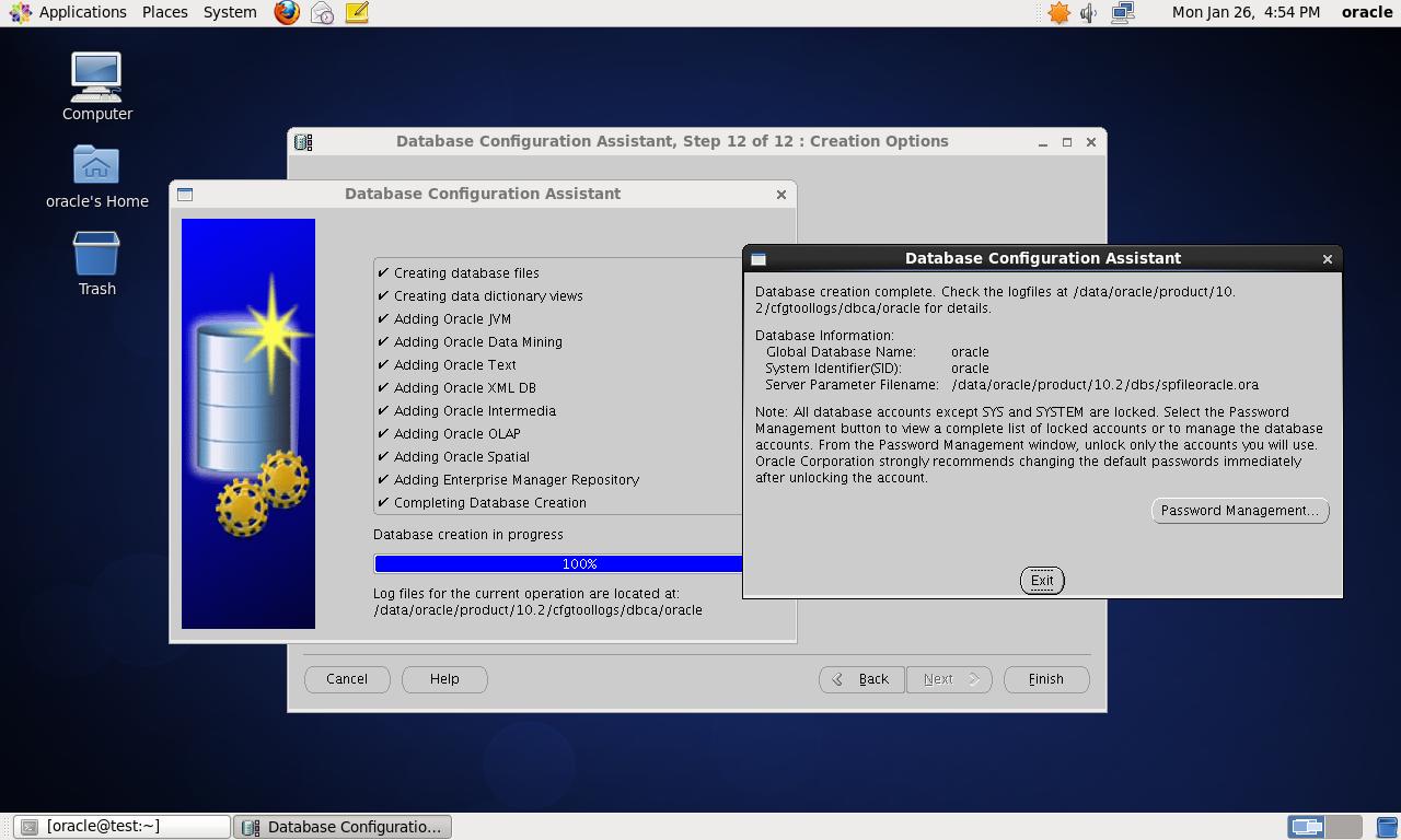 CentOS 6.4 64bit 安装Oracle 10G 详解 - 第48张  | 我的系统记录