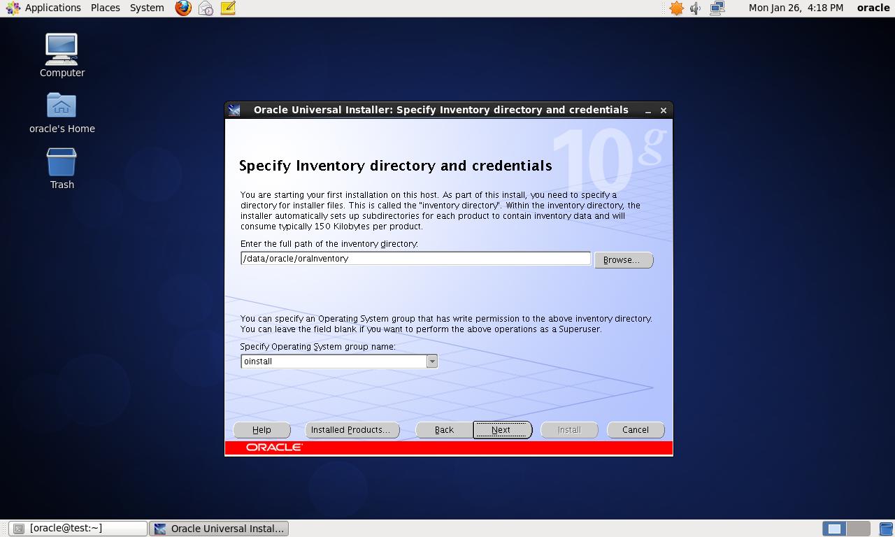 CentOS 6.4 64bit 安装Oracle 10G 详解 - 第25张  | 我的系统记录